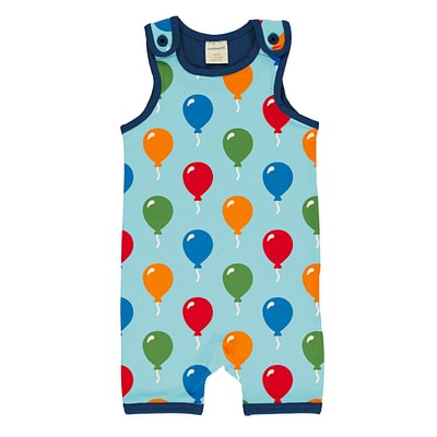 Maxomorra short playsuit dungarees balloon