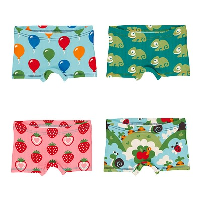 Maxomorra briefs boxers balloon chameleon garden strawberry