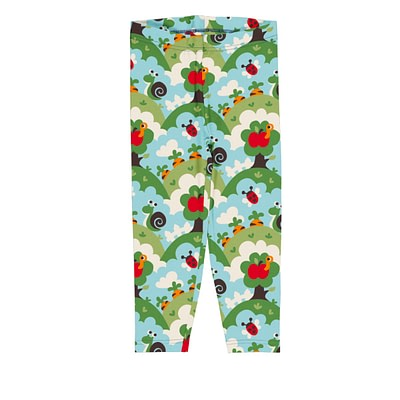 Maxomorra leggings cropped garden