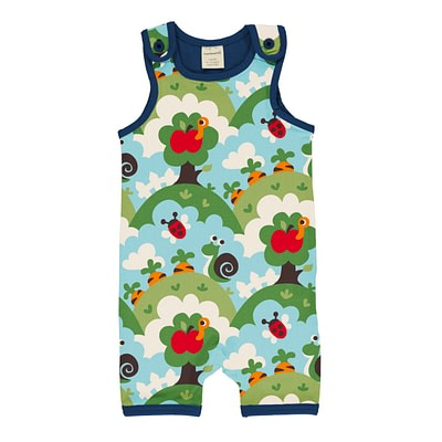 Maxomorra playsuit short garden