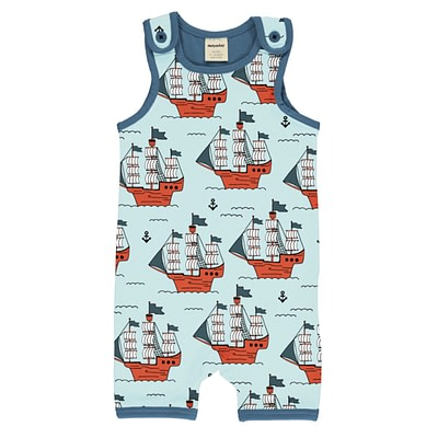 Meyadey short dungarees pirate adventure