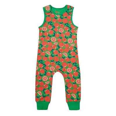 Piccalilly dungarees - oranges