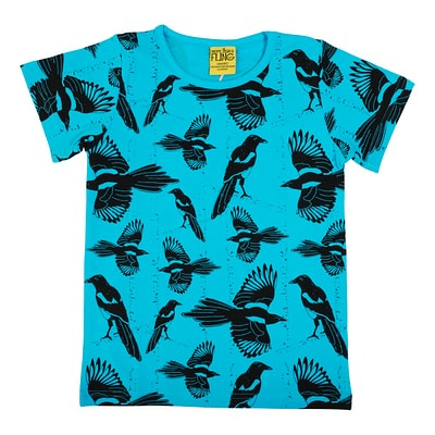 DUNS Sweden t-shirt Pica Pica blue