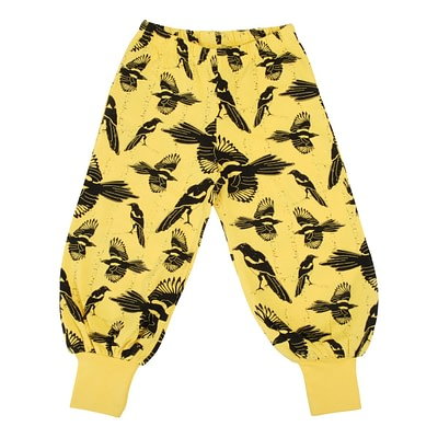 DUNS Sweden baggy pants Pica Pica yellow