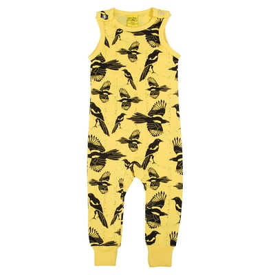 DUNS Sweden dungarees Pica Pica yellow
