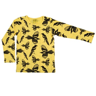 DUNS Sweden top Pica Pica yellow