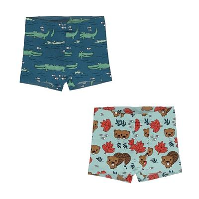 Meyadey crocodile beaver boxer shorts