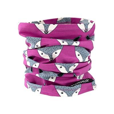 Villervalla neck scarf lotus fox