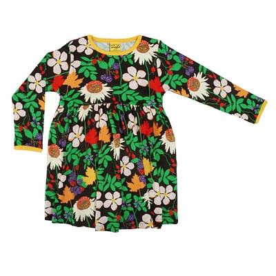 DUNS Sweden twirly dress autumn flowers