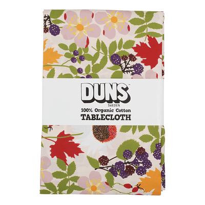 DUNS Sweden tablecloth autumn flowers