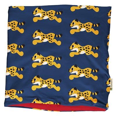 Maxomorra velour neck scarf cheetah