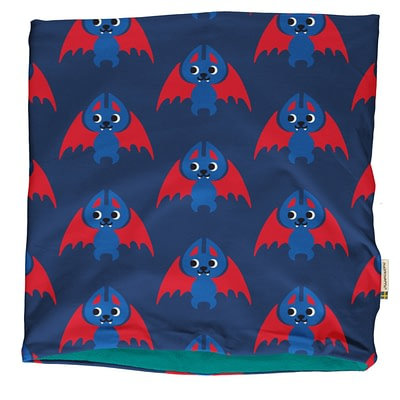 Maxomorra bat tube scarf velour