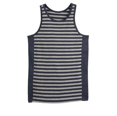 Organic cotton sleeveless boys vest