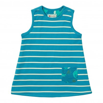 Magic dragon and reversible stripe dress by Piccalilly 2