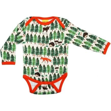 DUNS Sweden forest life 2016 organic cotton long sleeve baby vest (50cm newborn) 1