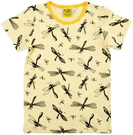 Yellow dragonflies tee by DUNS Sweden