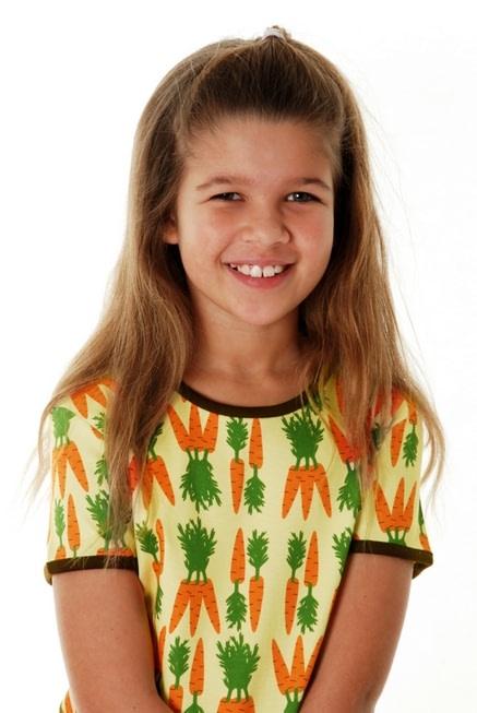 DUNS Sweden Carrots print organic cotton t-shirt 2