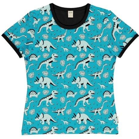 Adult dino organic cotton short sleeve t-shirt - Meyadey 1
