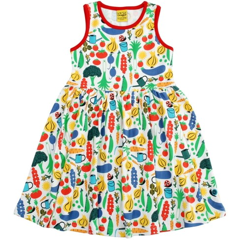 DUNS Sweden organic cotton vegetable dress
