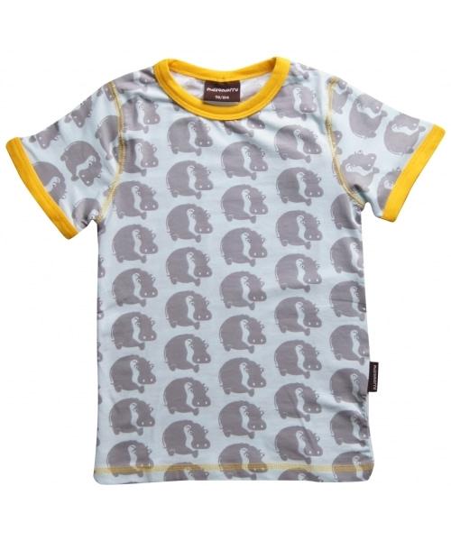 Hippos short sleeve t-shirt by Maxomorra