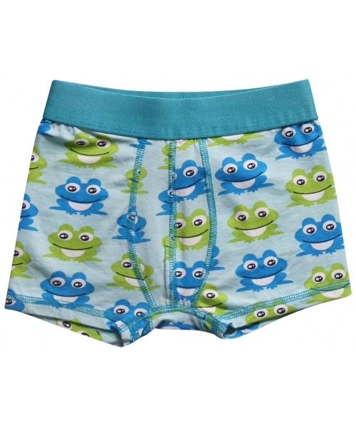 Maxomorra frog organic cotton boxer shorts for children