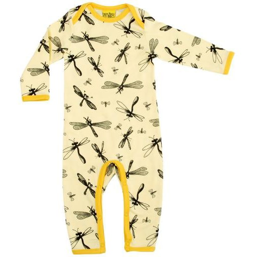More than a fling dragonfly print by DUNS Sweden - organic cotton baby