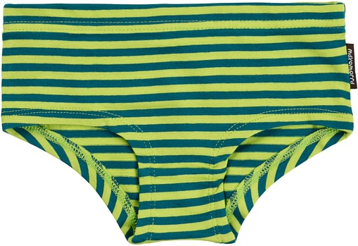 Bright colours striped knickers in organic cotton from Maxomorra 4