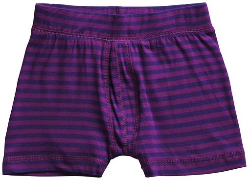 Maxomorra ~ organic cotton toddler boxer shorts in stripes 2