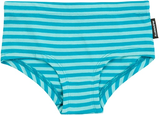 Bright colours striped knickers in organic cotton from Maxomorra 2