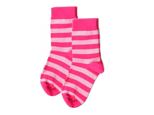 Maxomorra organic cotton unisex baby and toddler stripey socks - 2 packs 2