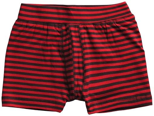 Maxomorra ~ organic cotton toddler boxer shorts in stripes 4