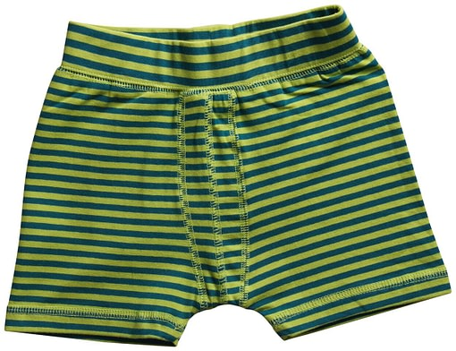 Maxomorra ~ organic cotton toddler boxer shorts in stripes 3