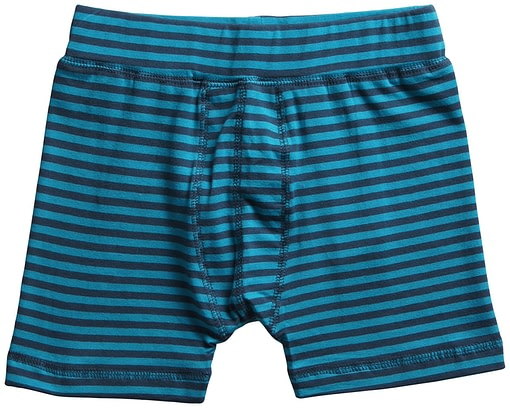 Maxomorra ~ organic cotton toddler boxer shorts in stripes 5