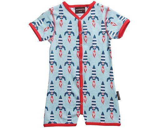 Organic cotton romper suit by Maxomorra - Scandinavian children's clothes