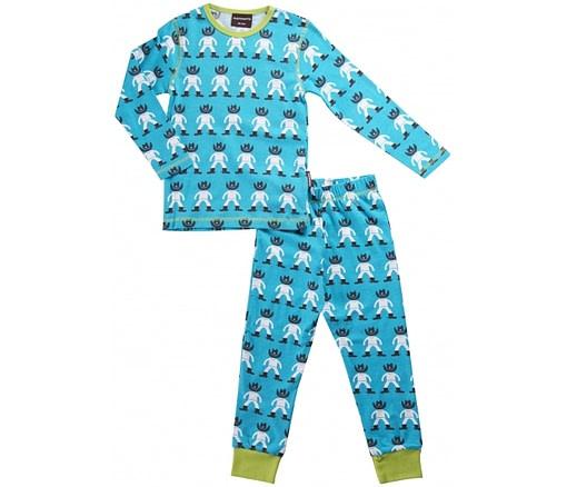 Organic cotton pyjamas - Scandi prints by Maxomorra - Cowboy