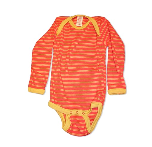Bright unisex merino baby vests Engel