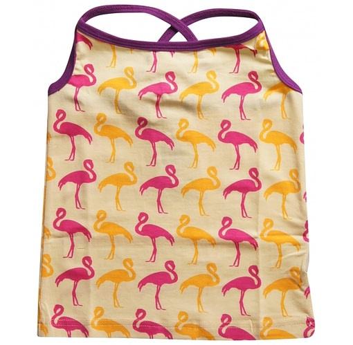 Flamingos design summer top by Maxomorra