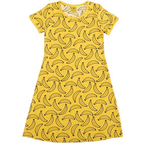 MTAF banana dress in organic cotton