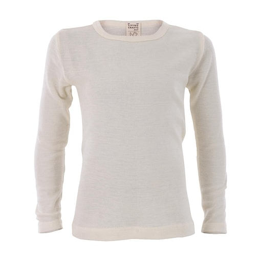 GOTS certified wool / silk blend vests in long sleeves by Living Crafts