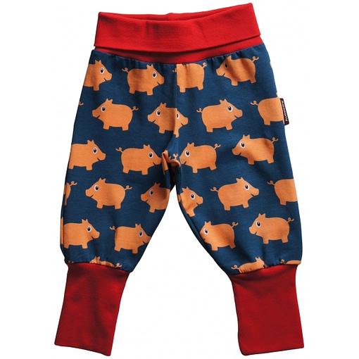 Baby pig rib pants by Maxomorra