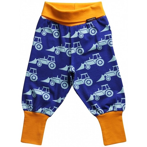 Excavator tractor baby trousers by Maxomorra