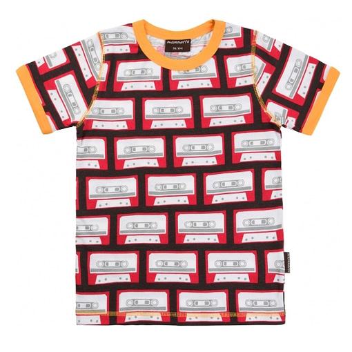 Retro cassette t-shirt by Maxomorra