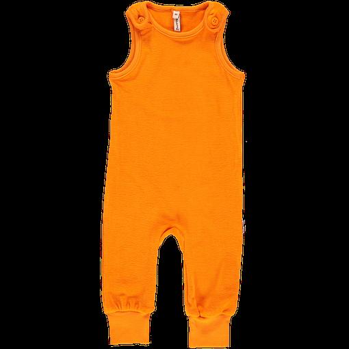 Maxomorra velour dungarees in orange