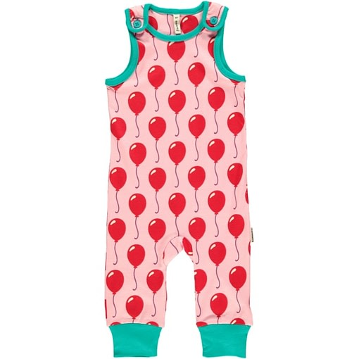 Balloons dungarees by Maxomorra in organic cotton