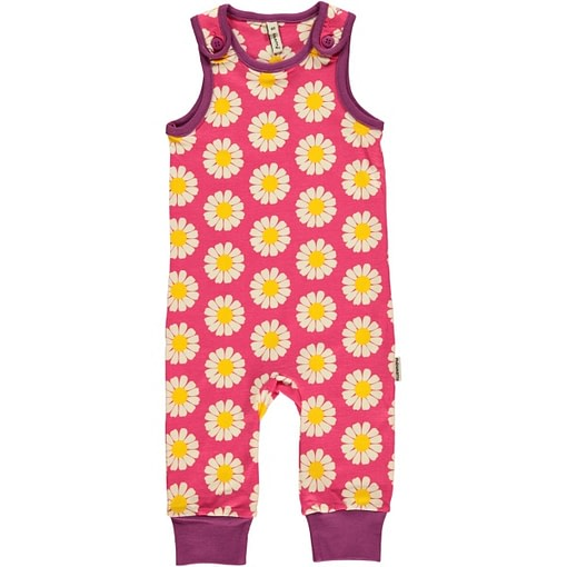 Daisies dungarees by Maxomorra in organic cotton