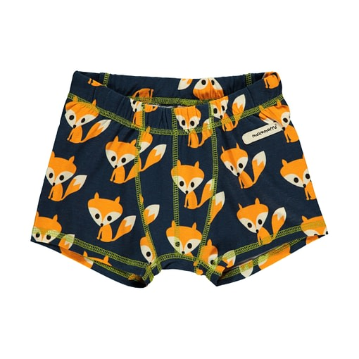 Foxes boxers by Maxomorra in organic cotton