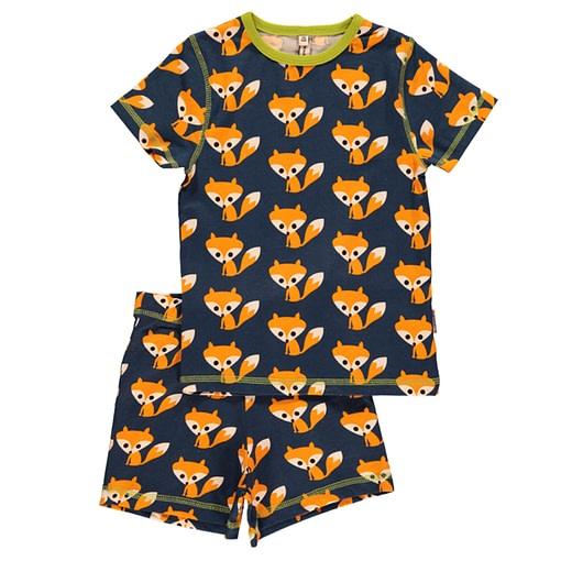 Foxes organic cotton summer pyjamas by Maxomorra