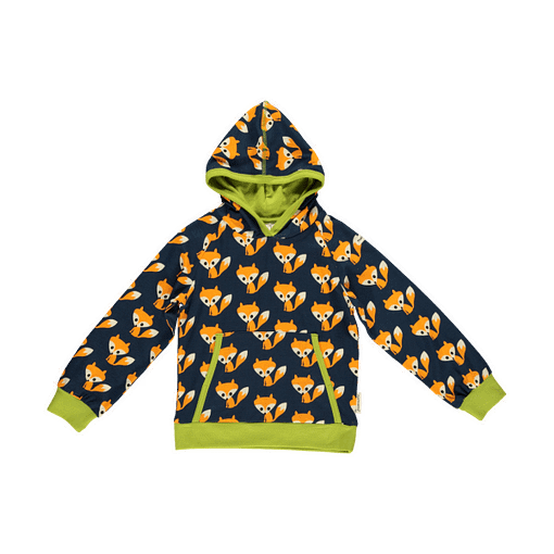 Foxes hooded top by Maxomorra