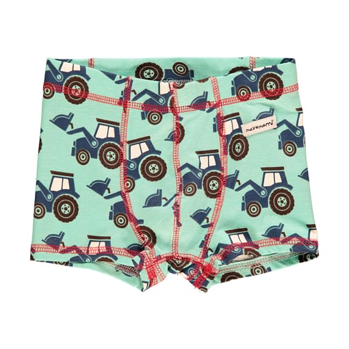 Organic cotton boys boxer shorts by Maxomorra