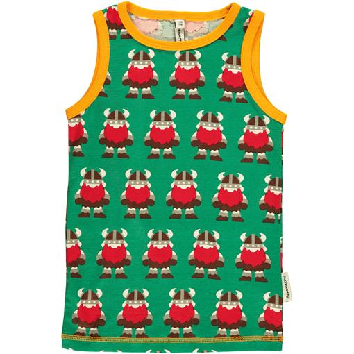 Vikings sleeveless organic cotton vest